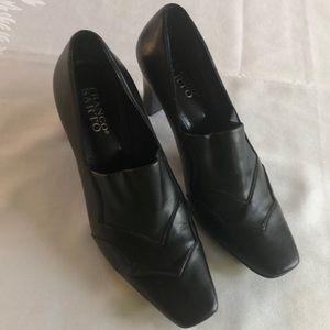 Square Toed Black Franco Sarto Shoes